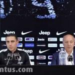Juventus , Conferenza stampa di presentazione di Romulo
