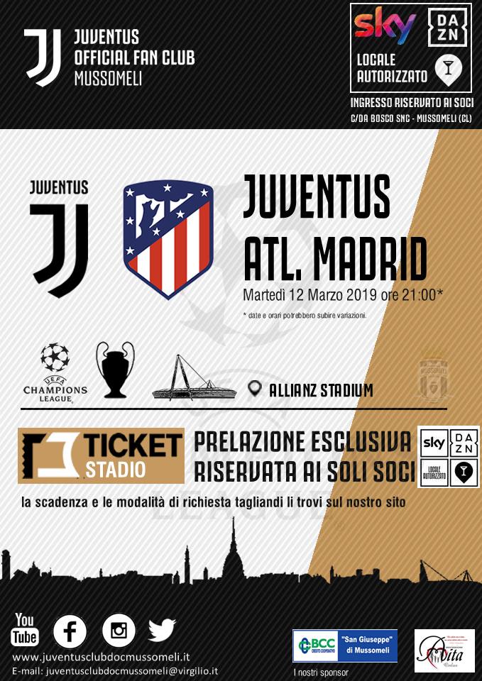 d8dd238194 RICHIESTA BIGLIETTI CHAMPIONS LEAGUE: JUVENTUS vs ATL. MADRID – SCAD ...
